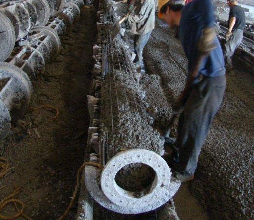 2017年新型水泥电线杆生产工艺流程